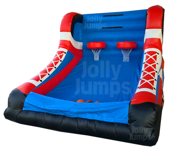 Basketball Inflatable Game Basketball Jumpy Game Arcade