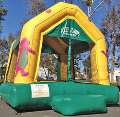Outstanding Barney Jump House Bouncer Murrieta Bounce House Temecula Download Free Architecture Designs Boapuretrmadebymaigaardcom