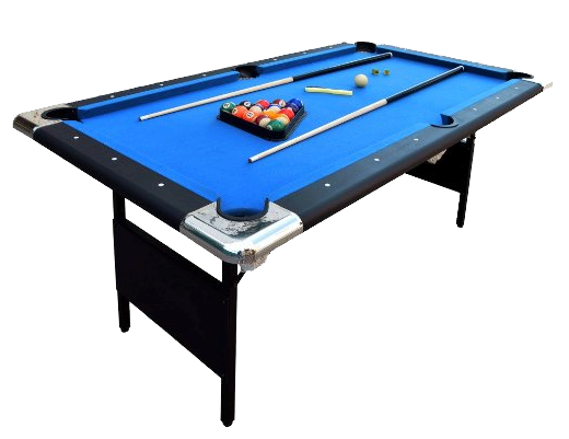 6 Foot Modern Pool Table With Accessories. Local Delivery Is Included.
