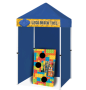 Lego Brick Toss - Tossing Game Booth