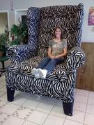Zebra Giant Chair