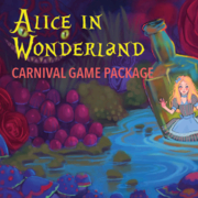Alice in Wonderland Carnival Game Package