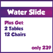 Water Slide Package Deal
