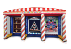 3-in-1 Carnival Game Booth