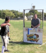 Beat the Bucket Dunk Tank
