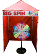 Big Spin - Spin Wheel Game Booth
