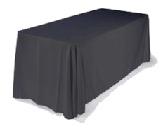 6ft Table Drape Linen