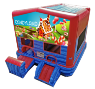 Candyland Gingerbread Combo with Slide