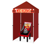 Can Smash Game Booth Game Booth
