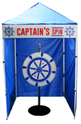 Captain Spin - Carnival Game Spin Game Booth