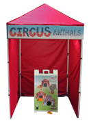 Circus Animals Bean Bag Toss