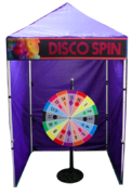 Disco Spin - Spin Wheel Game Booth
