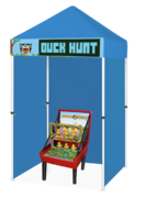 Duck Hunt Carnival Game Booth