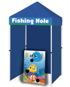 Fishing Hole - Bean Bag Toss Game Booth