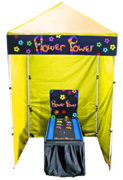 Flower Power - Shuffle Board Game Booth