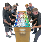 Giant LED Foosball Table 8 Players