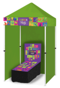 Garden Party - Coin Toss Game Booth