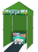 Dog House Mini Golf Game Booth