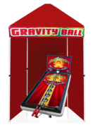 Gravity Ball Carnival Game Booth