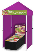 Gumdrop Mountains - Coin Toss Game Booth