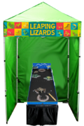 Leaping Lizards - Game Booth
