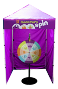 Monster Spin - Spin Wheel Game Booth