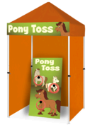 Pony Toss - Ring Toss Game Booth