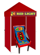 Red Light - Game Booth