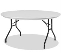 5ft Round Table Plastic