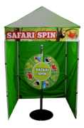 Safari Spin - Spin Wheel Game Booth