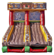 Skee Ball with Electronic Scoring
