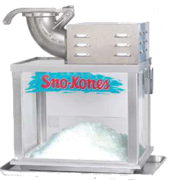 SnoKone Machine with Supplies