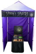 Spooky Spiders - Flip Game Game Booth