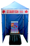 Starfish Toss - Coin Toss Game Booth