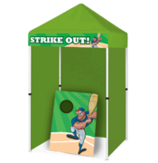 Strike Out - Bean Bag Toss Game Booth
