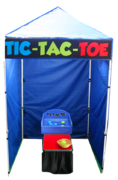 Tic Tac Toe Carnival Game Booth