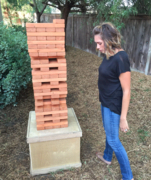 Giant Jenga Game - Wood