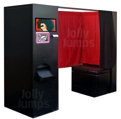 Deluxe Enclosed Photobooth with Props