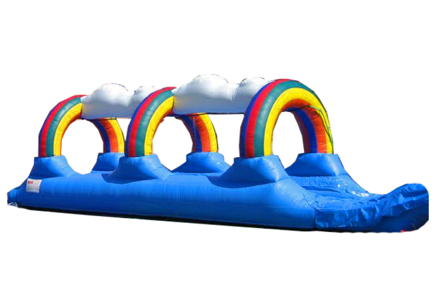 Rainbow Single Lane Slip n Slide