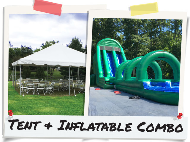Discounted Tent Package Price w/ the Purchase of ANY Inflatable