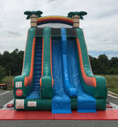 22' Big Tropical Dual Lane - DRY SLIDE