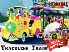 Electric Trackless Train - Carnival Series