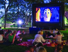 Outdoor Movie Screen Package