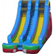Inflatable Dry Slides