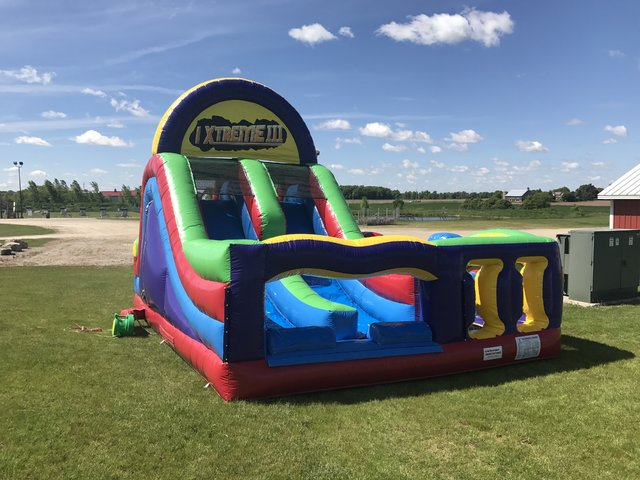 30'x20'  Retro Xtreme Obstacle Course