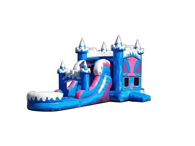 Snow Capped Bounce N' Slide (Wet)