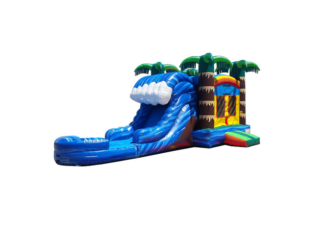 Paradise Falls Bounce N' Slide (Wet)