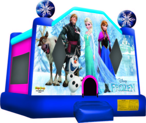 Frozen Bounce House (Medium)