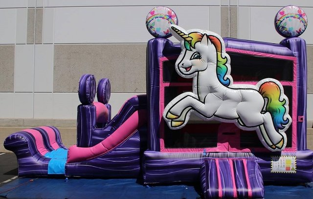Magical Unicorn Bounce N' Slide (Dry)