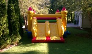 Candy Castle Combo Inflatable